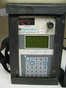 Ird Mechanalysis Model 818 Machinery Maintenance Data Collector Ev11