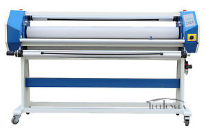 63in Stand Frame Full auto Single Side Wide Format Hot cold Laminator Room 120