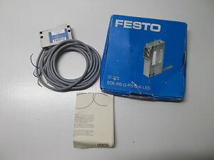 Festo Soe rs q ps o k led Retro reflective Sensor 31325