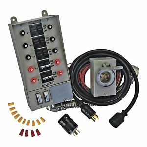 Reliance Controls Transfer Switch Kit 10 Circuit 31410crk