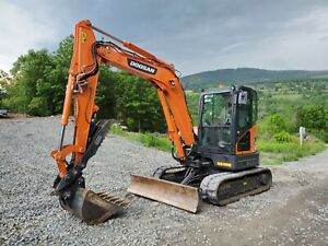 Bobcat 331g Excavator Hydraulic Thumb 87 Original Hours One Of A Kind