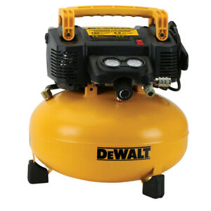 Dewalt 0 9 Hp 6 Gallon Oil free Pancake Air Compressor Dwfp55126r