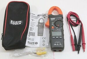 Klein Tools Cl210 Digital Clamp Meter Ac Auto ranging 400a New