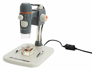 New Celestron 5 Mp Handheld Digital Microscope Pro 20 200x Usb Cable Software