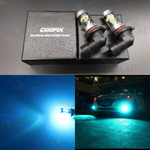 2x 100w High Power 9006 Hb4 8000k Ice Blue Led Cree Fog Light Driving Bulbs Drl