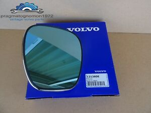 Volvo Amazon 121 122 P1800 140 144 Convex Mirror Glass New P N 1213608