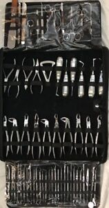 New Oral Dental Surgery Extracting Elevators Forceps Instrument Kit Set 61 Pcs