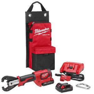 Milwaukee M18 Force Logic 2 0 Ah 6t Crimper W Kearney Grooves 2678 22k New