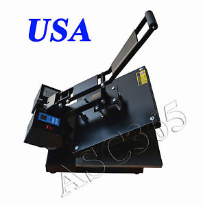 15x15inch Digital Heat Press T shirt Transfer High Pressure Garment Printing