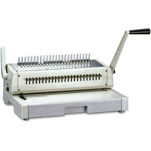 Comb Binding Machine Information On Purchasing New And