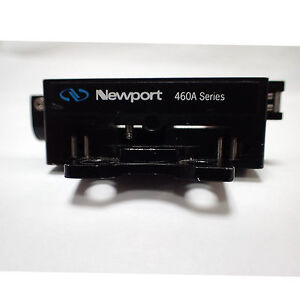Newport 460a xy 0 5inches 12 7mm Two axis Quick Mount Linear Stage Micrometer