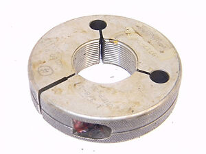 Used Cadillac Gage Thread Ring Gage 1 3 8 X 18 Unef 2a nogo P d 1 3313