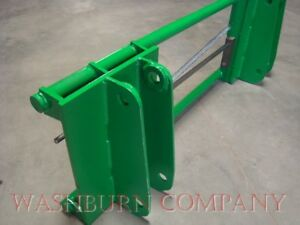 John Deere 148 158 Loader To Euro Global Attachments Adapter