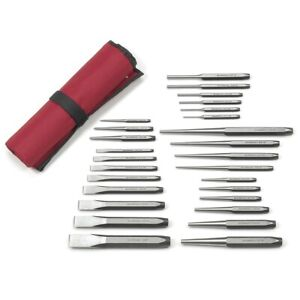 Gearwrench 82306 27 Pc Punch And Chisel Set