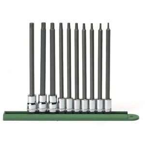 Gearwrench 80588 10 Pc Long Torx Bit Socket Set