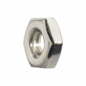 Machine Screw Hex Nuts Stainless Steel Grade 18 8 All Sizes And Quantities