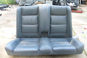 Bmw E30 3 Series Convertible Rear Seat Backrest Top And Bottom Gray Blue