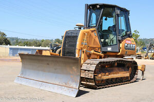 2012 Case 750l Lt Crawler Dozer 2700hrs Cab Heat ac Pat Blade Ms Ripper Tier 3