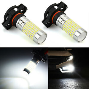 Jdm Astar 2x H16 144 smd 5202 6000k White Extreme Bright Led Fog Drl Lights Bulb