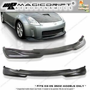 Made For Nissan 350z Z33 Jdm Ks Pu Front Bumper Lip K style urethane
