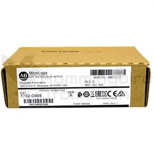 2019 New sealed Allen Bradley Micrologix 1762 ow8 a Relay Output Module Qty