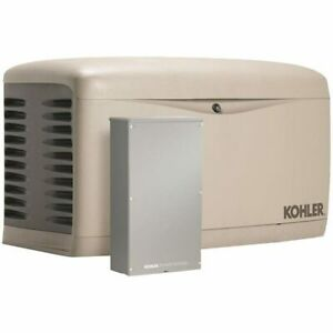 Kohler 14kw Composite Standby Generator System 200a Service Disconnect Switc