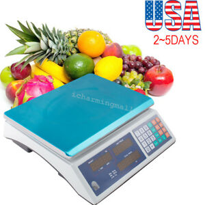 Digital Weight Scale 30kg Price Computing Food Meat Scale Produce Usa