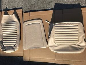 1966 Mustang F100 F350 Ranger Parchment Upholstery 1 Front Seat Cover