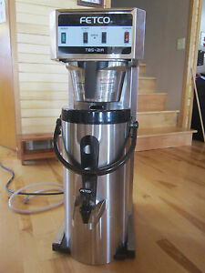 Fetco Commercial Tea coffee Brewer And Dispenser Tbs 21a