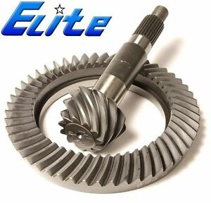 Elite Gear Set Gm 9 5 Chevy 14 Bolt semi Float Rearend 4 10 Ring And Pinion
