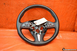 2016 14 15 16 Infiniti Q50 Oem Leather Steering Wheel Black Switches