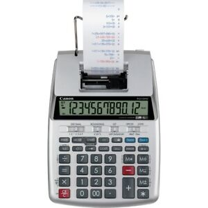 Canon P23 dhv 3 12 digit Printing Calculator P23dhv3