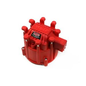 Msd Ignition 84111 Gm Chevy Extreme Output Hei Distributor Large Cap Red V8