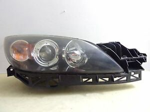 2004 2005 2006 2007 2008 2009 Mazda 3 Sedan Rh Halogen Headlight Oem 89