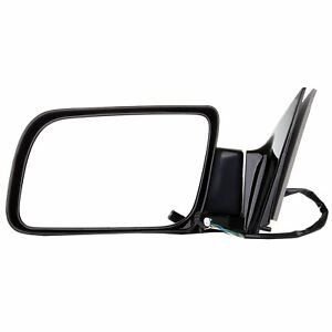 Left Door Power Driver Side View Manual Fold Mirror For Cadillac Chevrolet Gmc
