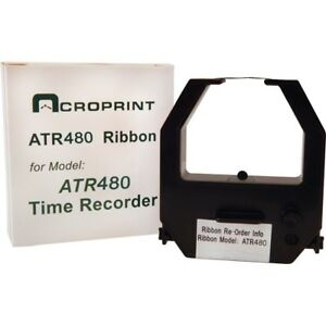 Acroprint Ribbon Cartridge Black Red 390127002