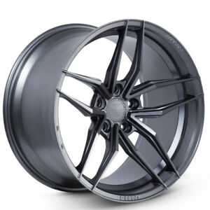 20 Ferrada F8 fr5 Graphite Concave Wheels Rims Fits Ford Mustang Gt Gt500