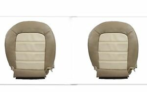 2003 2004 2005 Ford Explorer Driver Passenger Bottom Leather Seat Covers Tan