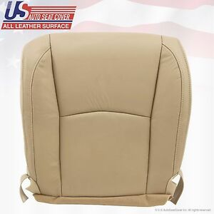 Fits 2004 2009 Lexus Rx 330 Rx 350 Rx400 Driver Bottom Leather Seat Cover Tan