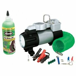 12 volt Inflator Tire Repair Kit Slime 50063