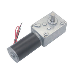 Dc12v 24v A584031zy High Torque Metal Turbo Worm Gearbox Reduction Gear Dc Motor