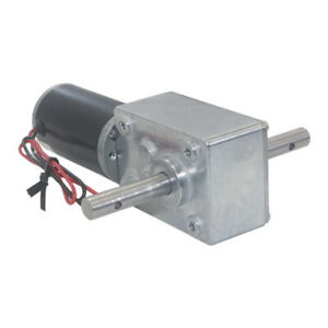12v 24v A584031zys Large Torque Metal Turbo Worm Gearbox Reduction Gear Dc Motor