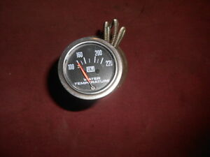 Gnj Universal Mechanical Water Temperature Gauge In Good Condition