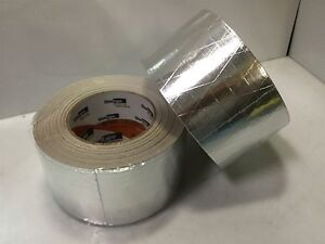 Lot Of 2 Shurtape Af982 Linered Fsk Alum Foil scrim kraft Tape 2 9 X 50 Yds