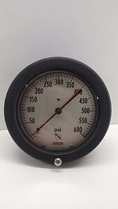 New Old Stock Ashcroft Bronze Tube 0 600 Psi Gauge 250 2362 a
