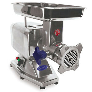 Commercial Meat Grinder 1 1 8 H p 264 Pounds Per Hour Gear Driven
