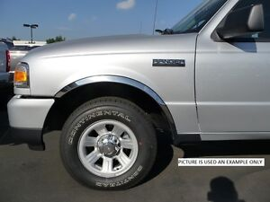 2001 2006 Ford Escape Fender Flares Trim Polished Stainless Steel Chrome