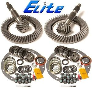 1999 2010 Chevy 14 Bolt Gm 9 5 9 25 4 56 Ring And Pinion Elite Gear Pkg