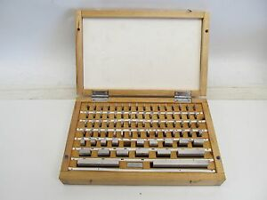 80 Piece Machinist Gauge Block Set 050 4