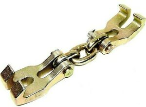 Double Claw Hook Chain Shortener Clamp Bumper Hook Puller Auto Body Dent Repair